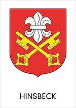 Wappen der ehemaligen Gemeinde Hinsbeck
